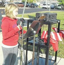 """norwood celebrates veterans day madison press gabby lytle shares her essay on """"what america means to me"""" during the veterans day celebration at norwood elementary school"""