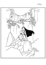 Small Picture Pocahontas holds meeko coloring pages Hellokidscom