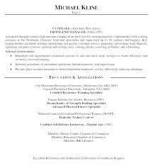Profile Resume Examples Profile Examples For Resumes Resume Overview