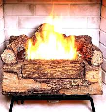fake fireplace logs with