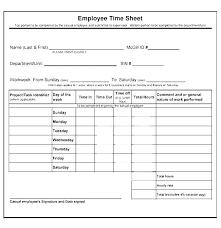 Employee Time Card Template Time Sheet Calculator Templates