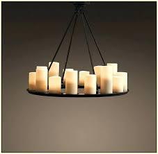 extraordinary candle chandelier non electric lighting outdoor ikea diy lowe uk canada rustic rectangular