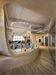 futuristic office ditches cubicles super. Spaces Futuristic Office Ditches Cubicles Super