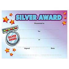 Sports Certificates Silver Award