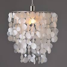 diy ideas for faux capiz shell chandelier
