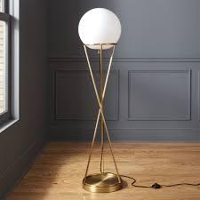 interior modern led floor lamps cb2 vast prime 3 modern floor lamp r25 modern