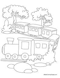 Train Coloring Book Pages 488websitedesigncom