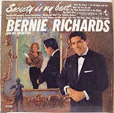 BERNIE RICHARDS SOCIETY IS MY BEAT vinyl record - Amazon.com Music