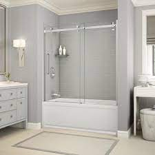 the home depot installed custom shower