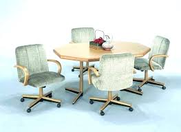 dining room chairs with casters dining room chairs with casters dining chairs casters swivel room on
