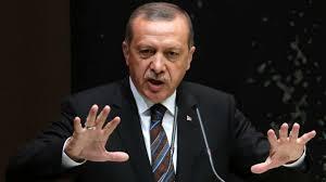 الرئيس التركي : لا يمكننا البقاء خارج المعركة ضد
