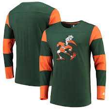 Sleeve Jersey - Green T-shirt Hurricanes Starter Long orange Field Miami|The Sensitive Compartmentalized Information Facility