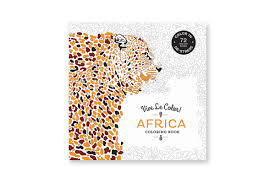 Vive Le Color! Africa (Adult Coloring Book) (Paperback) | ABRAMS