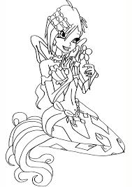 Tổng hợp 50 hình tranh tô màu công chúa Winx đẹp nhất dành cho bé gái -  Zicxa books
