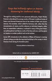 nature and selected essays penguin classics ralph waldo emerson nature and selected essays penguin classics ralph waldo emerson larzer ziff 9780142437629 com books
