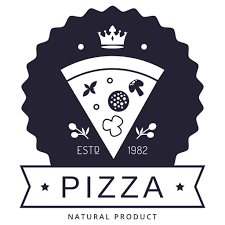 Pizza hipster logo - Transparent PNG & SVG vector