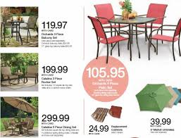 Spring Patio Furniture