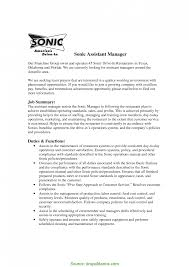 Manager Duties Resume Regular Assistant Manager Duties And Responsibilities For Resume 6