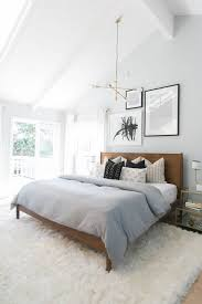 white fluffy rug bedroom. the rug in this domino.com image really makes bedroom fit together! love white fluffy h