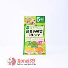 Bột ăn dặm Wakodo vị bí đỏ, khoai lang cho bé từ 5 tháng tuổi mới nhất –  Chuỗi siêu thị Nhật Bản nội địa - MADE IN JAPAN Konni39 tại Việt Nam