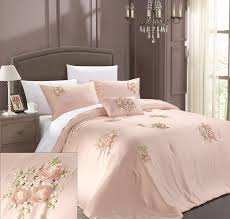 amazoncom chic home rosetta piece comforter set king pink
