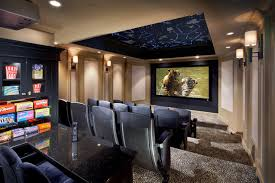 Small Picture Constellation Theater Transitional Home Theater New York