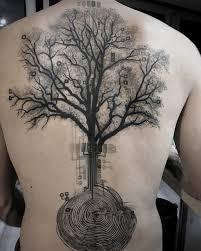100 úžasné Back Tattoo Myšlenky Punditschoolnet