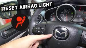 How To Reset Airbag Light On Mazda 2 3 5 6 Cx 3 Cx 5 Cx 7 Cx 9 Mx 5 Miata Air Bag