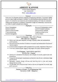 Civil Engineer Job Description Resume - http://www.resumecareer.info/