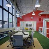 google office in america. Artificial Grass In Google Office - America