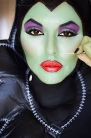 wicked witch face paint for witch makeup costume