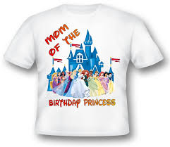 Disney Princess Age Chart Personalized Disney Princesses T Shirts All Disney Princesses T Shirt Birthday Disney Castle Princess T Shirts All Sizes Disney Princess