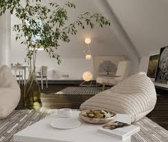 Sloped Ceiling Living Room The Art Of Sloped Ceiling Spaces
