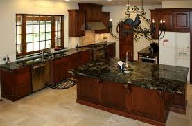 cherry oak cabinets best of cherry wood kitchen cabinets with black granite brown wooden