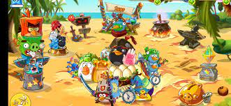 Without wanting i deleted my old angry birds epic from Amazon app store and  I waved goodbye : angrybirdsepic