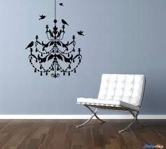 beaded chandelier wall art vinyl and sticker view 6 of 26