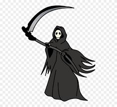grim reaper cartoon transpa clipart