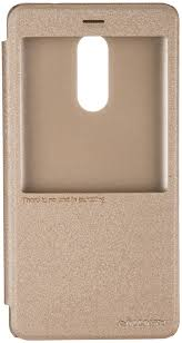 <b>Чехол</b>-<b>книжка Nillkin Sparkle для</b> Xiaomi Redmi Note 4 golden ...