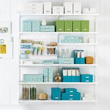 White elfa Craft Room Shelving ...