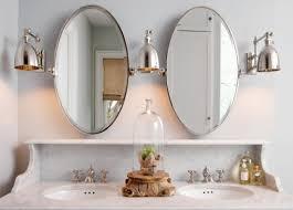 Beveled Tilt Oval Bathroom Vanity Mirrors Beveled Bathroom For Your