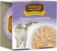Купить <b>влажный корм</b> для кошек <b>Деревенские лакомства</b> в ...