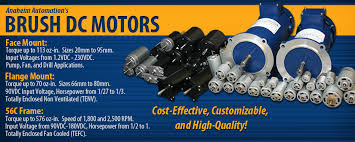brush dc motors wide selection from anaheim automation