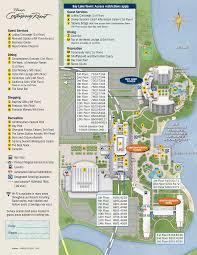 map of disney s contemporary resort