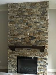 fireplace traditional air stone over brick fireplace from air stone fireplace solution