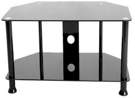 wooden tv table with shelves black tv 2037