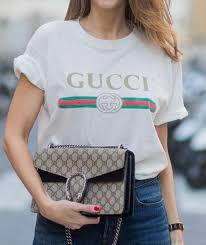 gucci tee. florence street style gucci tee