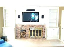 unique entertainment center and fireplace wall unit with built in custom made around i72