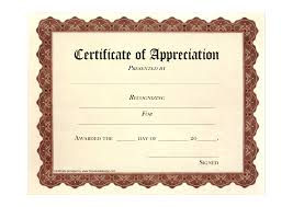 Free Award Certificates Free Certificates Free Certificate Of Appreciation Award 2