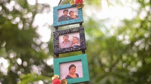 how to make photo frame from waste material at home diy cardboard photo frame