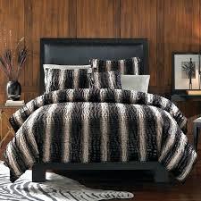 queen lynx faux fur fullqueen duvet cover set faux fur duvet cover uk home design ideas faux